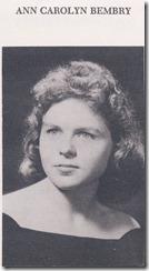 Ann Carolyn Bembry